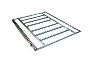 Arrow  72 in. W x 120 in. D Steel  Floor Frame Kit