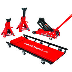 Craftsman  Manual  3 ton Automotive Floor Jack Set