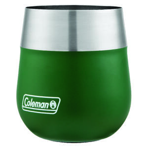 Coleman  13 oz. Claret  Insulated Tumbler/Glass  Heritage Green