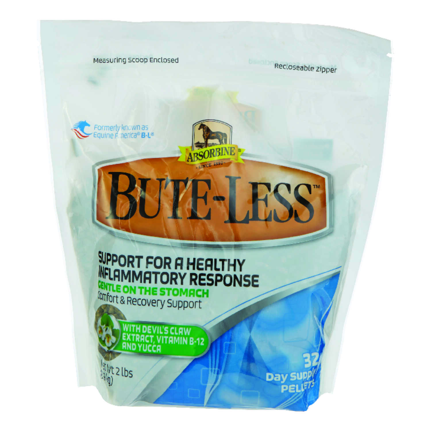 Absorbine  Bute-Less  Solid  Inflammatory Support  For Horse 2 lb.