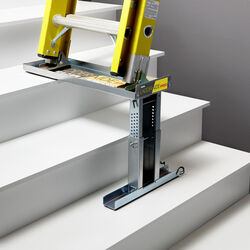 Ideal Security  Ladder-Aide Pro  Steel  Ladder Leveler  1 pk