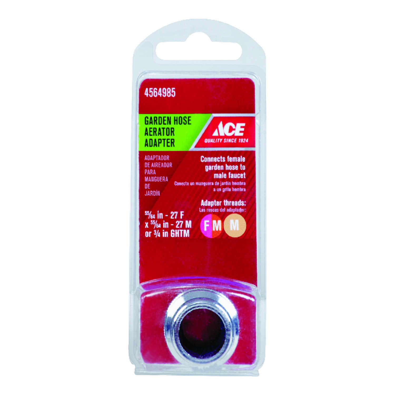 Ace Br Female Male Garden Hose Aerator Adapter