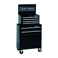 AceHardware.com deals on Craftsman 26.5-in Steel Rolling Tool Cabinet 6 drawer