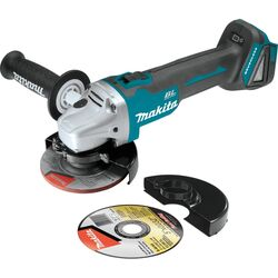Makita  LXT  Cordless  18 volt 4-1/2 to 5 in. Angle Grinder  Bare Tool  8500 rpm