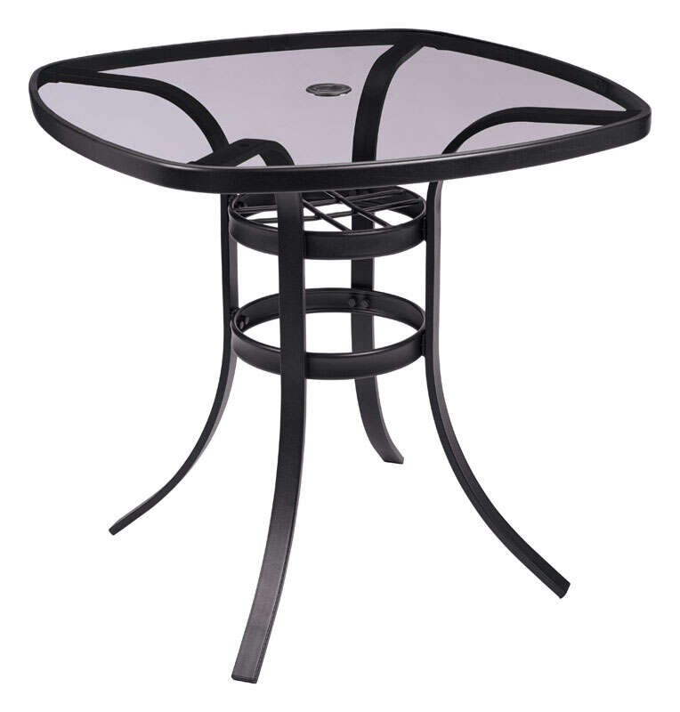 Living Accents  Dark Brown  Newport  Square  Table