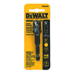 DeWalt  Impact Ready  1/2 in. drive  Socket Adapter  1 pc.