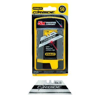 Stanley  FatMax  Steel  Heavy Duty  Replacement Blade  2-7/16 in. L 50 pc.