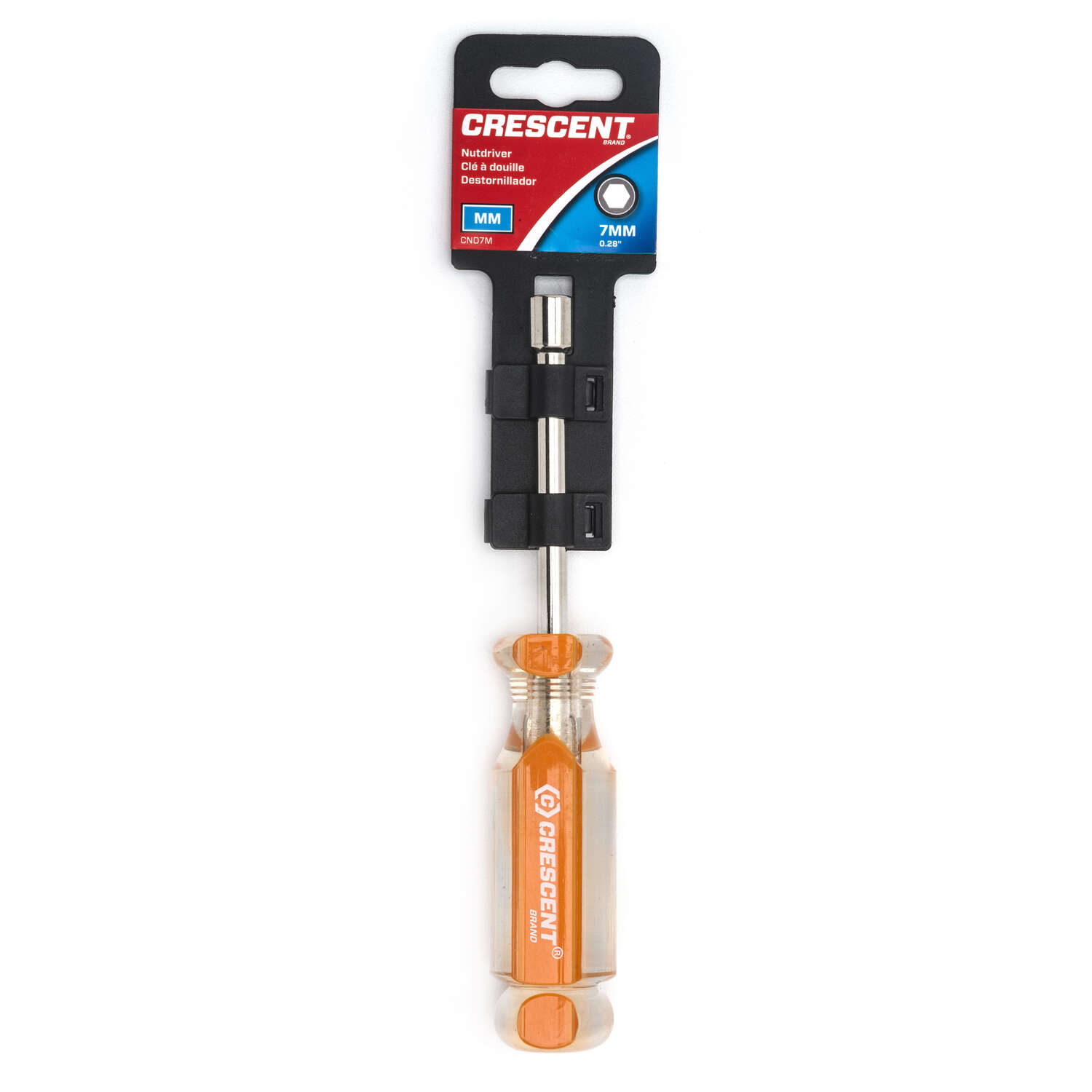 Crescent 7 mm Metric Nut Driver 7 in. L 1 pc.