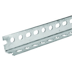 SteelWorks 1-1/4 in. W x 72 in. L Zinc Plated Steel Slotted Angle