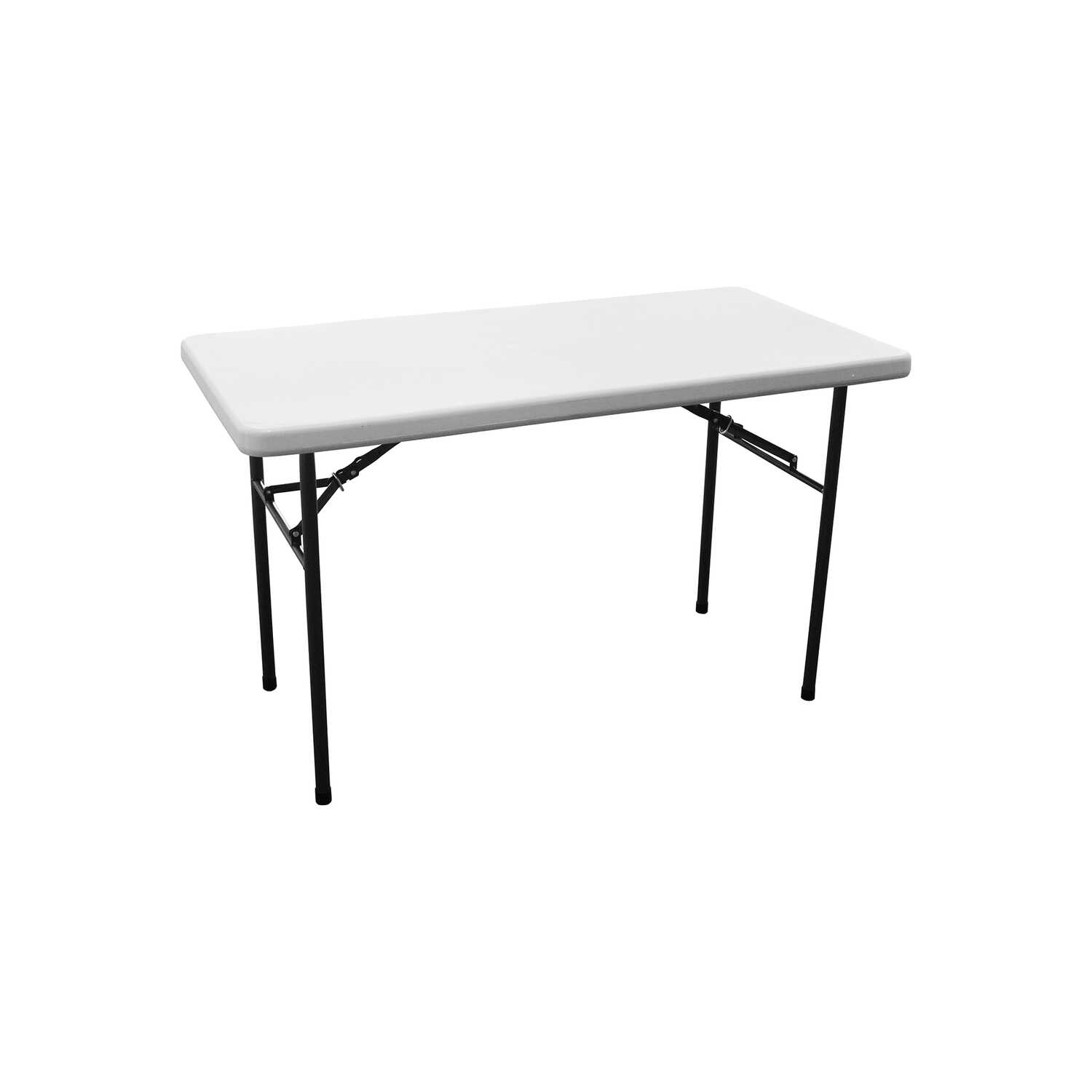 Living Accents  29-1/4  H x 24  W x 48  L Rectangular  Folding Table