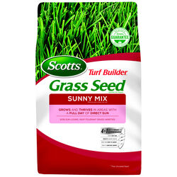 Scotts  Turf Builder  Sunny Mix  Full Sun  Grass Seed  3 lb.