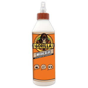 Gorilla  Natural Wood  Wood Glue  18 oz.
