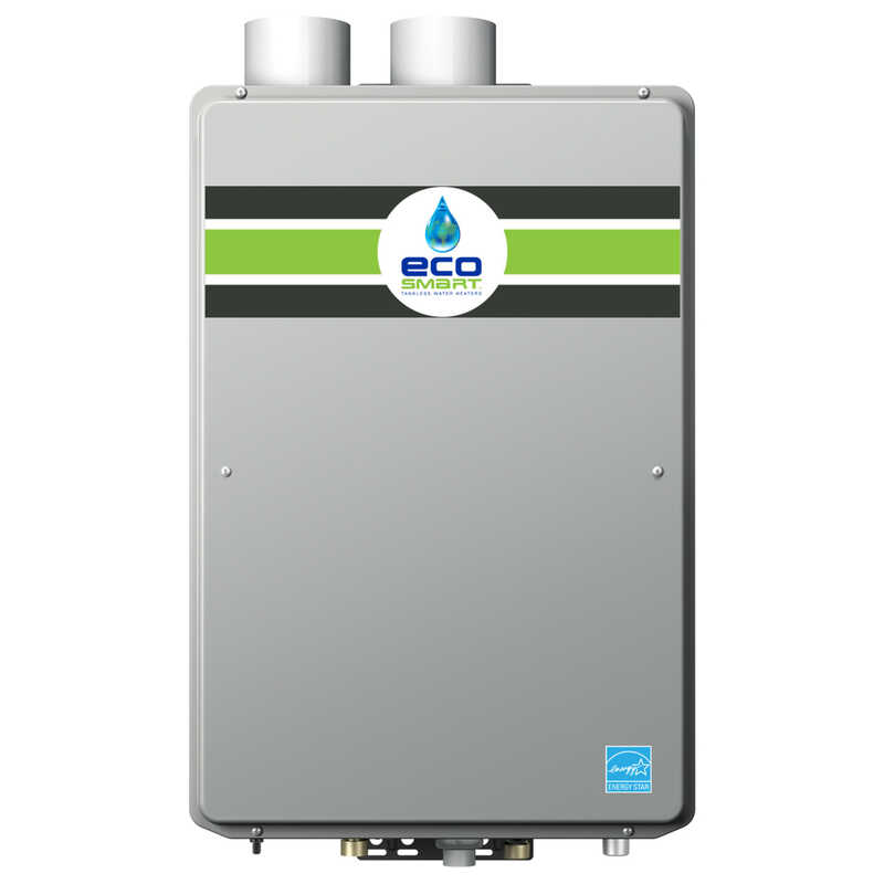 Ecosmart  Natural Gas  Tankless Water Heater  27-1/2 in. H x 18-1/2 in. W x 9-3/4 in. L 9.5 gpm