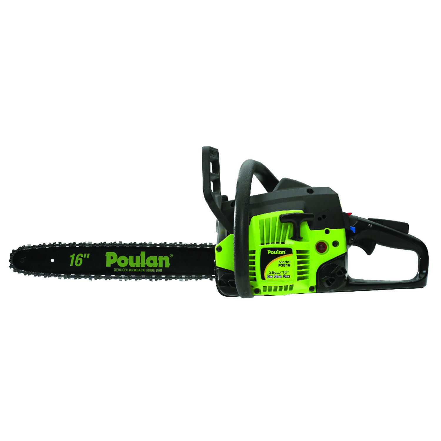 Poulan  16 in. L Gas Powered  Chainsaw