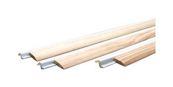 M-D  Brown/White  Foam/Wood  Weatherstrip  For Door Jambs 36 and 84 in. L x 1/2 in.