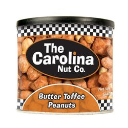 The Carolina Nut Company  Butter Toffee  Peanuts  12 oz. Can