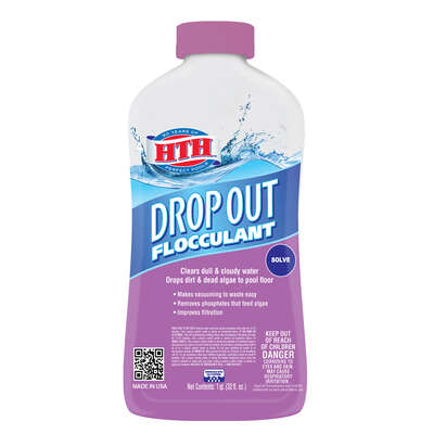 Hth Drop Out Liquid Flocculant 1 Qt Ace Hardware