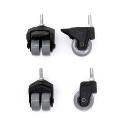 Big Green Egg Swivel Caster Set Steel