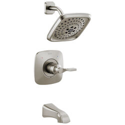 Delta  Monitor  Sawyer  1-Handle  Brushed Nickel  Tub and Shower Faucet