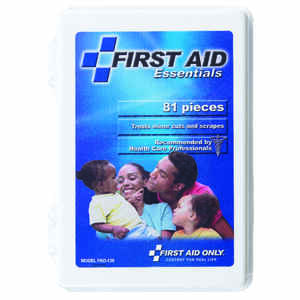 First Aid Only  Grab'n Go Emergency Kit  81 pc.