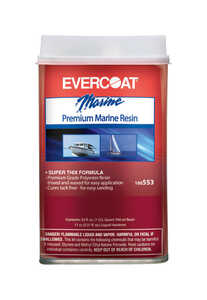 Evercoat  Boat Yard Fiberglass Resin  1 qt.