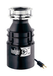 InSinkErator  Badger  3/4 hp Continuous Feed  Garbage Disposal with Power Cord
