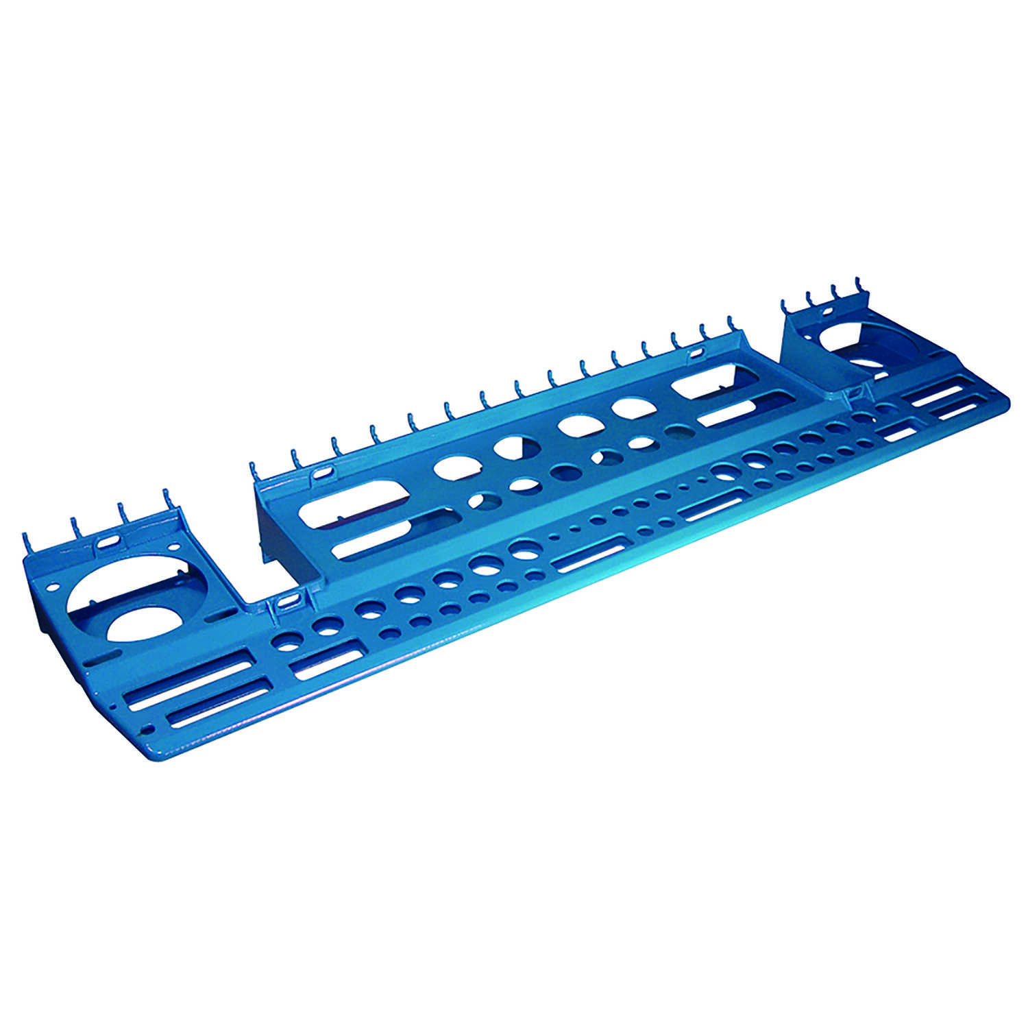 Crawford  Blue  Plastic  6 in. 3 in 1 Tool Holder  1
