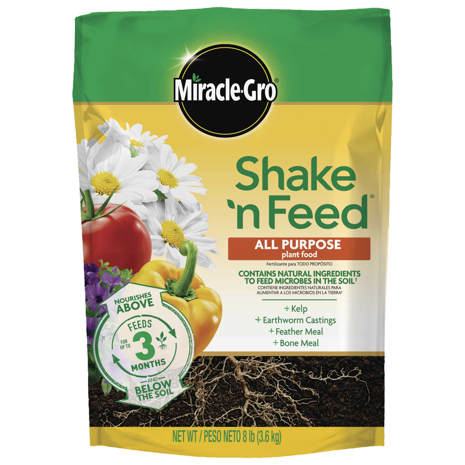 Miracle-Gro  Shake 'N Feed Refill  Powder  Plant Food  8 lb.