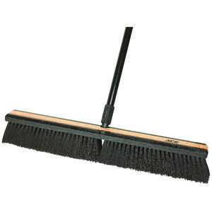 Ace  Smooth Surface Push Broom  24 in. W x 60 in. L Tampico