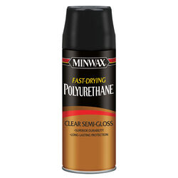 Minwax Semi-Gloss Clear Fast-Drying Polyurethane 11.5 oz.