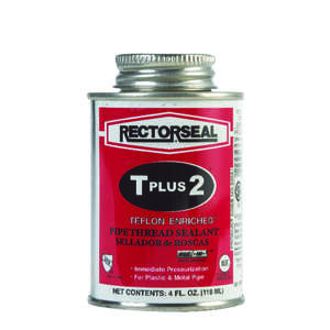 Rectorseal  White  Pipe Thread Sealant  4 oz.