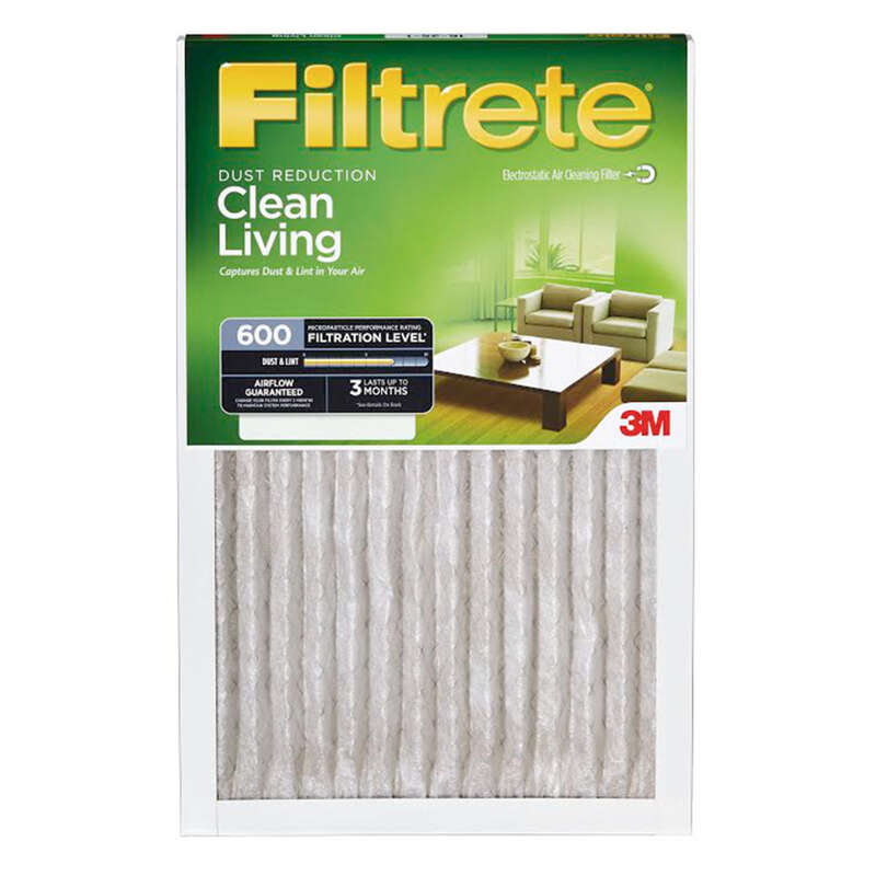 3M Filtrete 14 in. W x 14 in. H x 1 in. D 8 MERV Pleated Air Filter