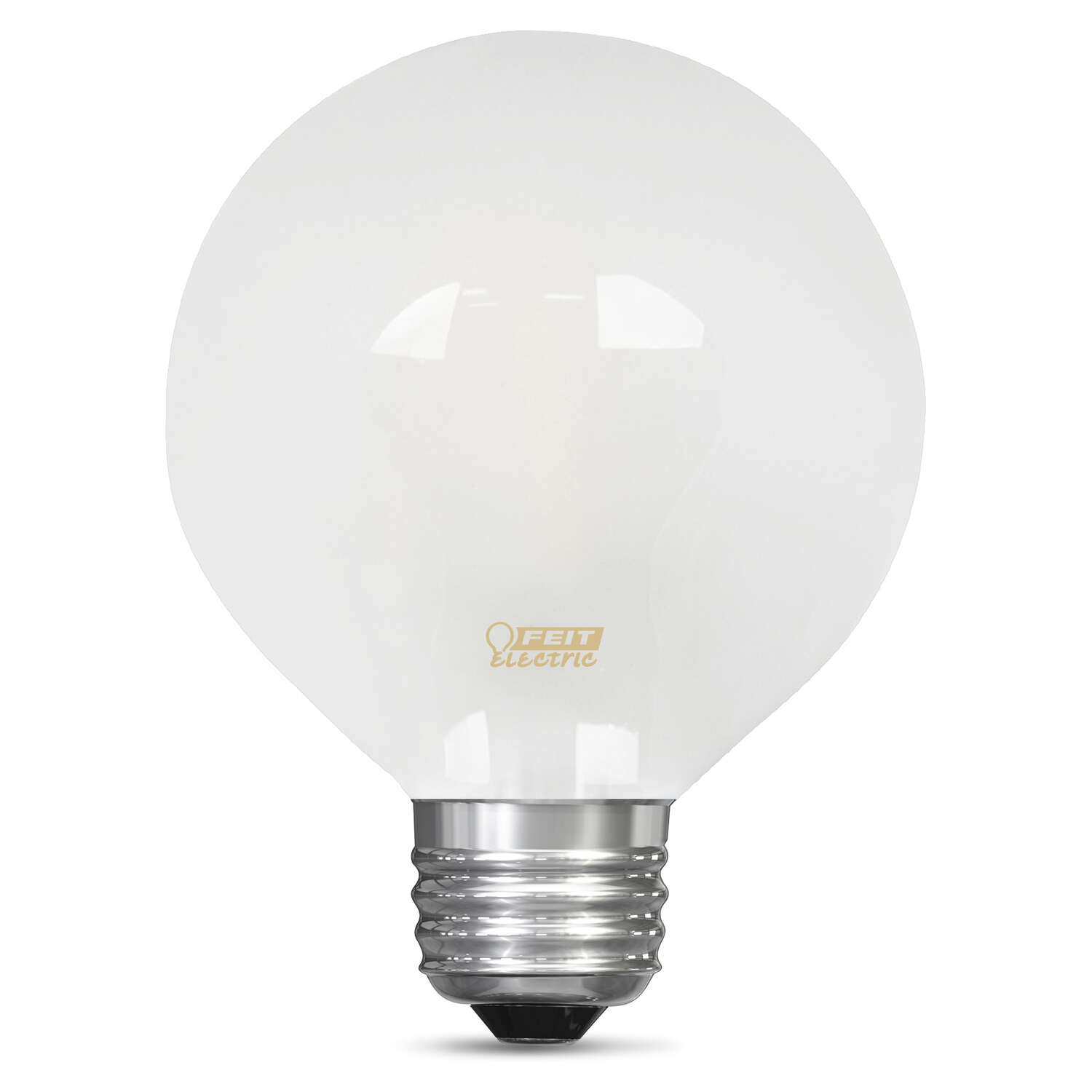 FEIT Electric  2.5 watts G25  LED Bulb  180 lumens Soft White  Globe  25 Watt Equivalence