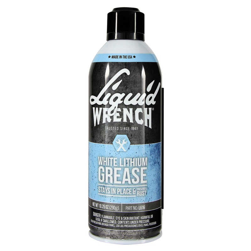 Liquid Wrench  White Lithium  Grease  Can
