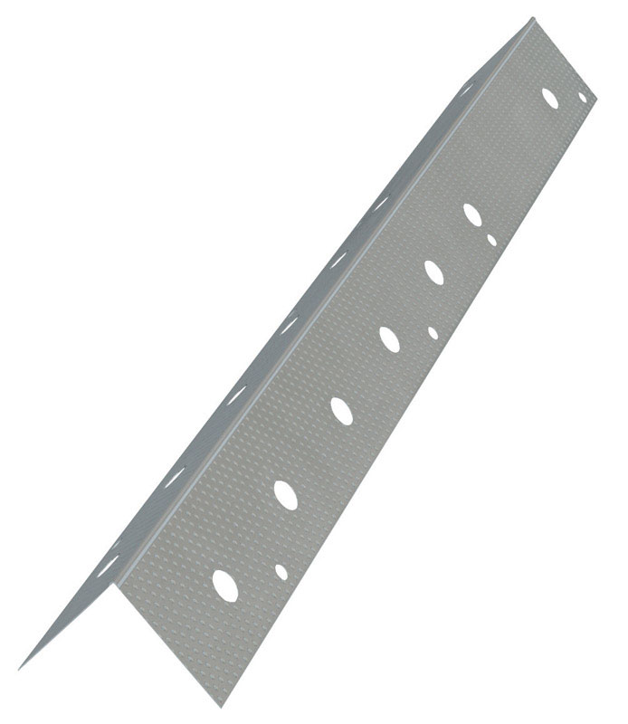 Amerimax  1.25 in. W x 120 in. L x 1.3 in. W Galvanized Steel  90 Degree  Corner Bead