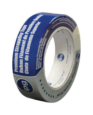 IPG  .94 in. W x 60 yd. L Strapping Tape  Clear