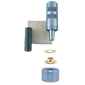 General Tools  1/4 in. Dia. Brass  Grommet Kit  48 pk