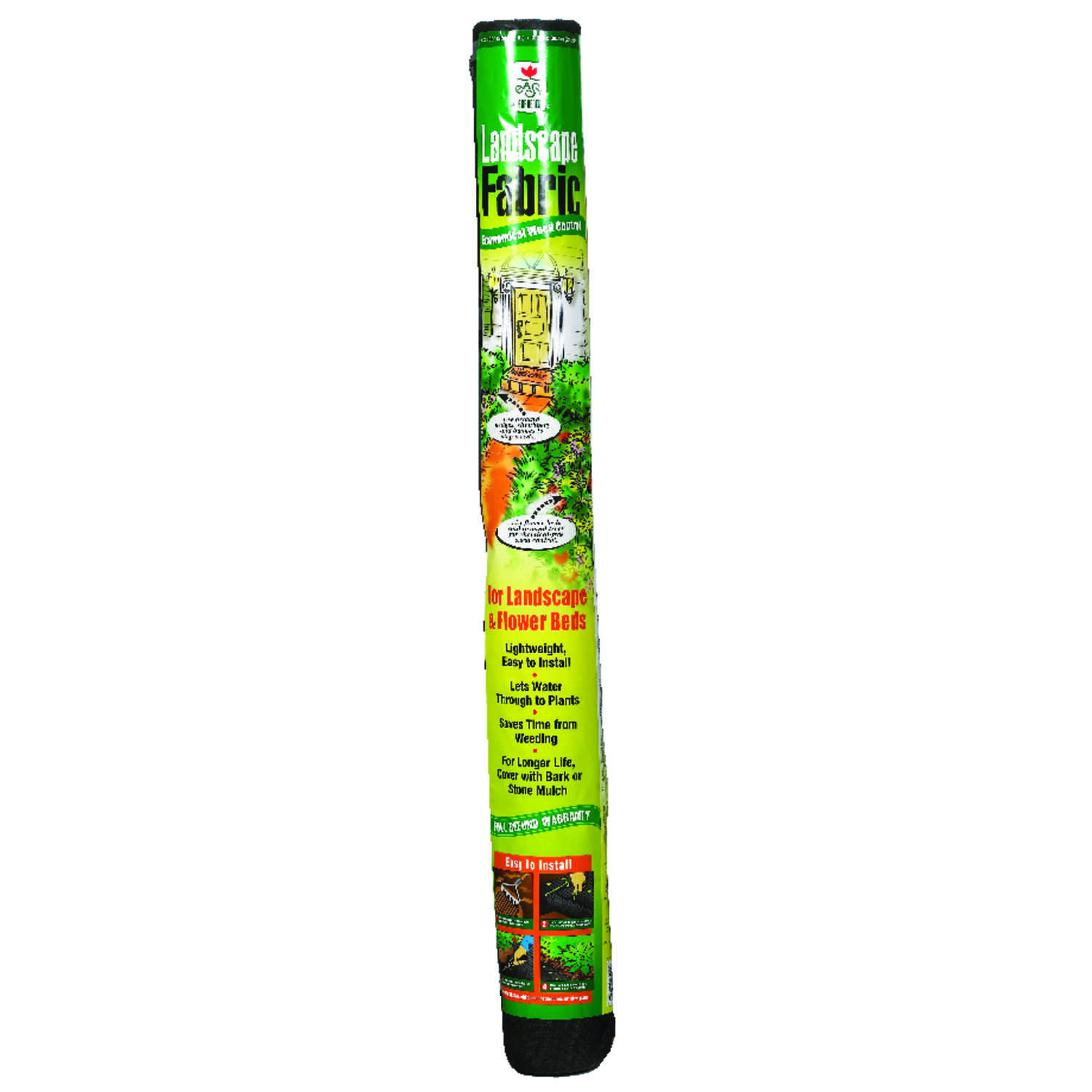 Easy Gardener  Land Master  36 in. W x 100 ft. L Landscape Fabric