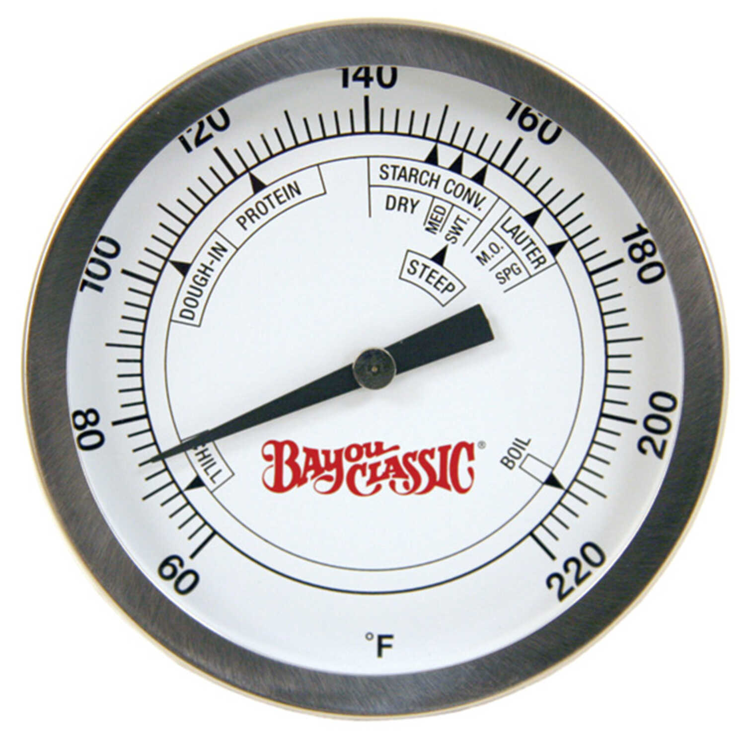 Bayou Classic  Analog  Brew Thermometer  4 in. H