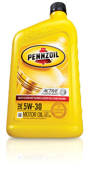 PENNZOIL  5W-30  4 Cycle Engine  Multi Viscosity  Motor Oil  1 qt.