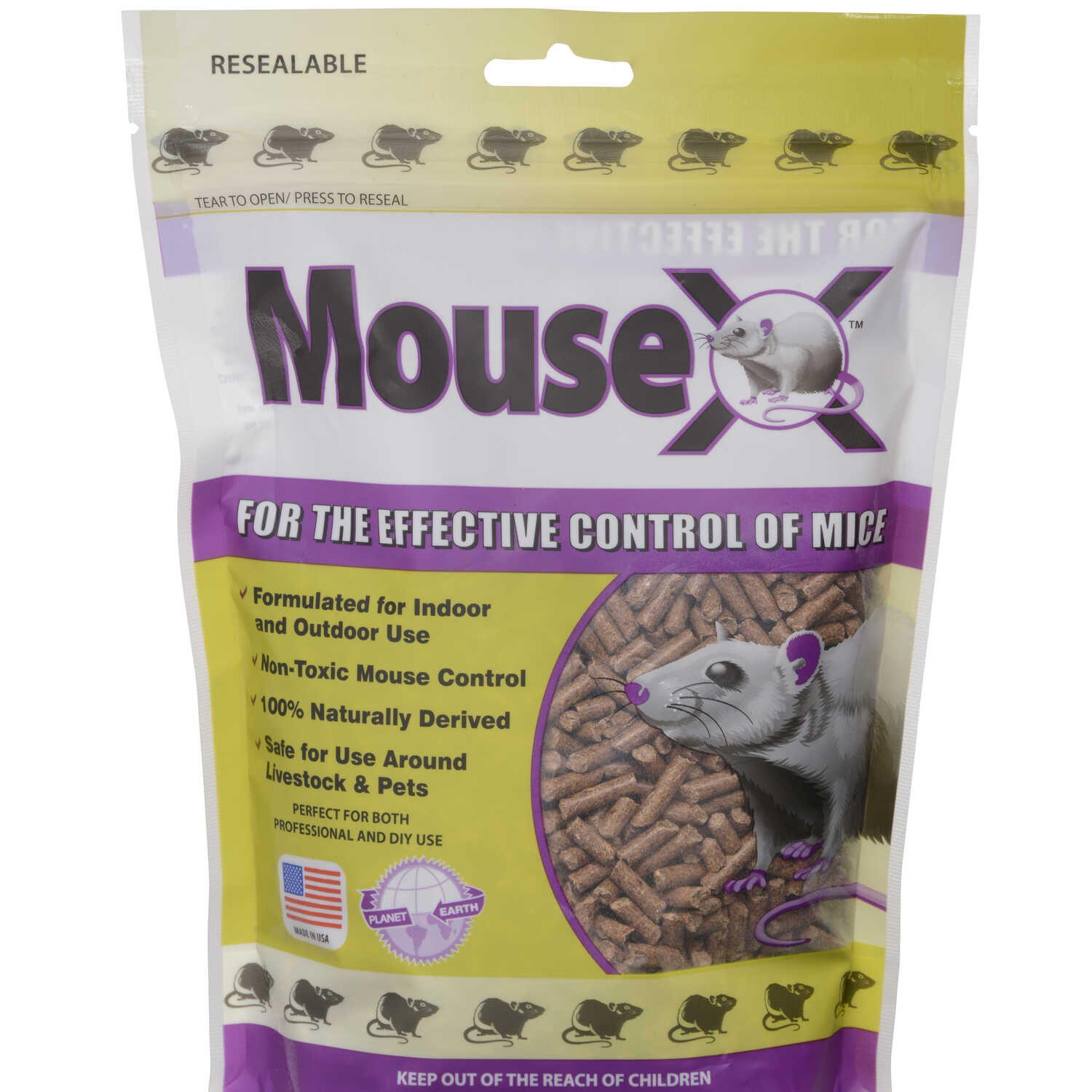 MouseX  For Mice/Rats Killer  8 oz.