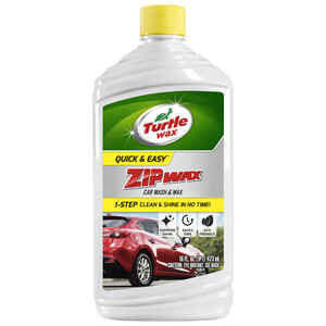 Zip Wax  Liquid  Car Wash Detergent  16 oz.