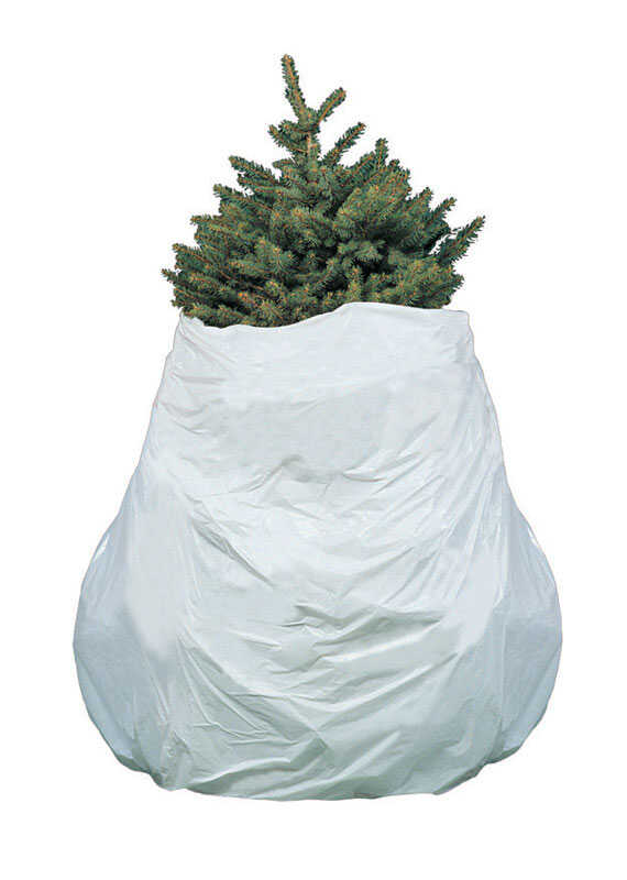 White Plastic Artificial Tree
