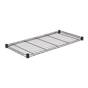 Honey Can Do  1 in. H x 36 in. W x 18 in. D Steel  Shelf Rack