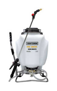 Craftsman  Pro Series  Adjustable Spray Tip Backpack Sprayer  4 gal.