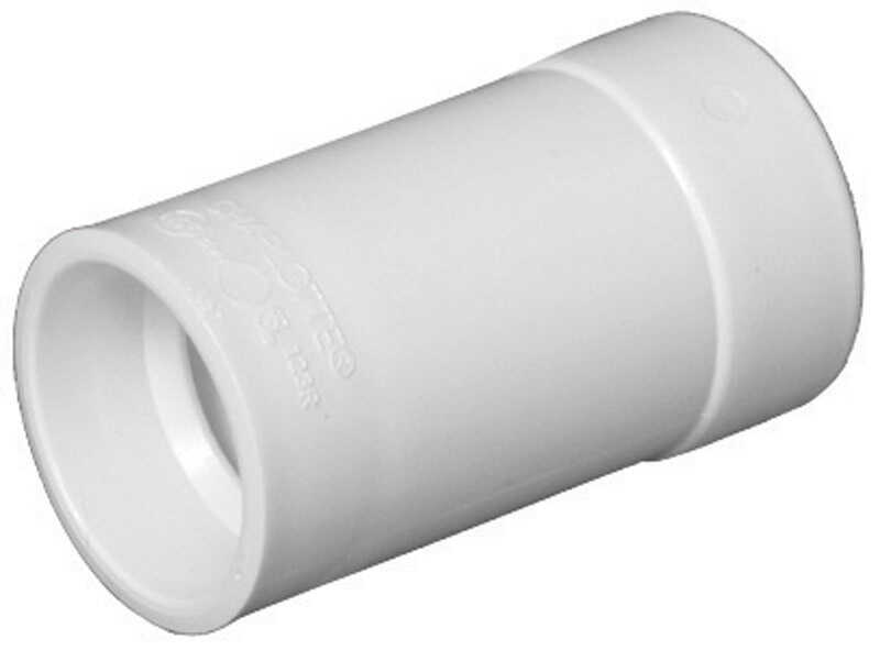 Charlotte Pipe  3 in. Hub   x 4 in. Dia. Spigot  Pipe Adapter