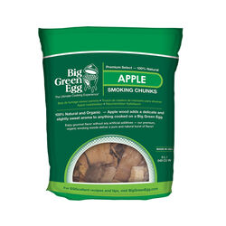 Big Green Egg  All Natural Apple  Wood Smoking Chunks  549 cu. in.