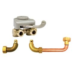 Keeney  3/4 in. MPT   x 1/2 in.  MHT  Brass  Washing Machine Timer Valve