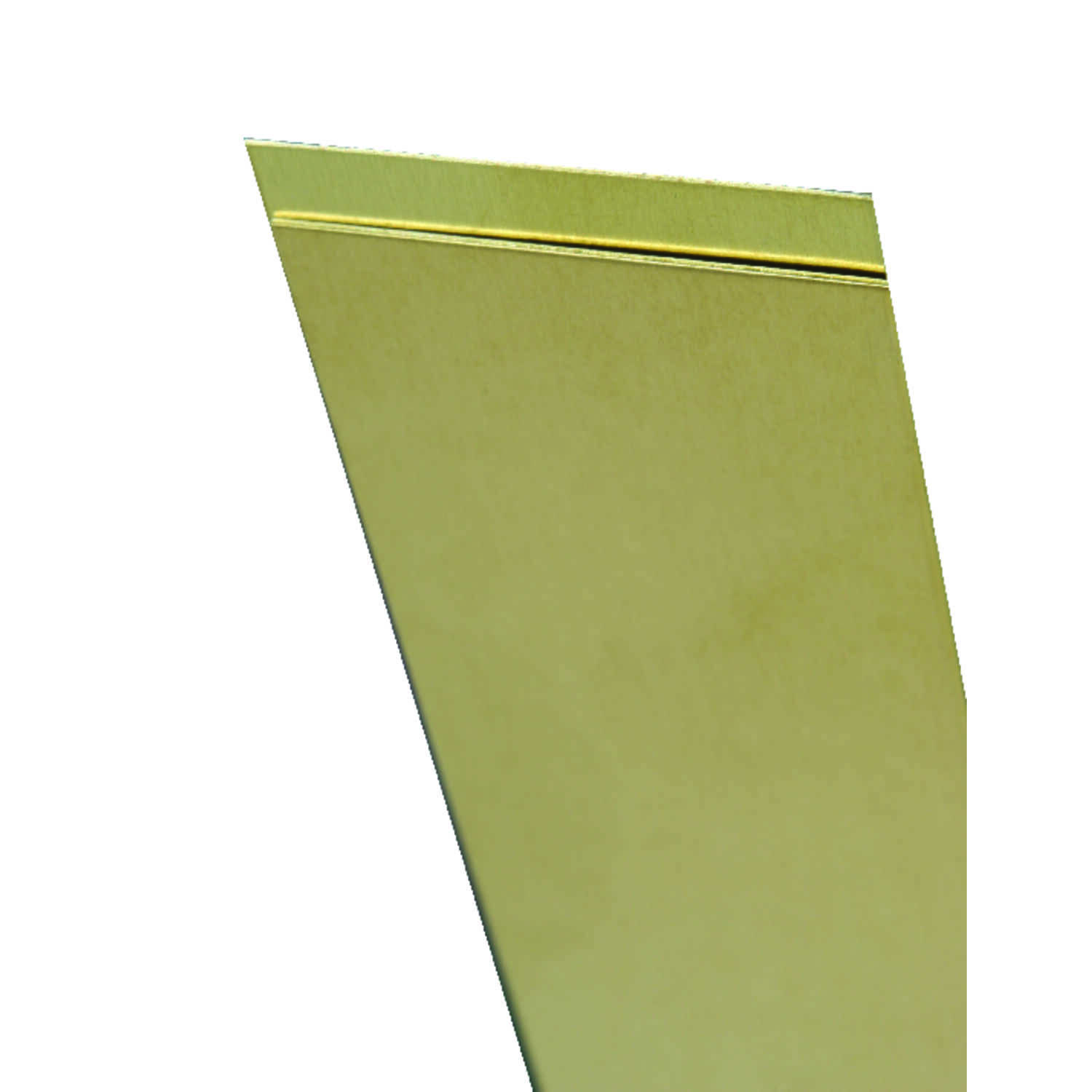 K&S  0.032 in.  x 4 in. W x 10 in. L Brass  Sheet Metal
