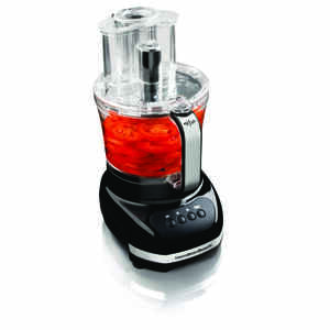 Hamilton Beach  Big Mouth  Black  12 cups Food Processor  500 watts